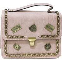 Bolsa Pequena Com Patches