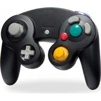 Controle Hyper Mega Para Wii E Gamecube Preto