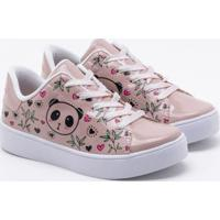 Tênis Pink Cats Infantil Verniz Blush 30