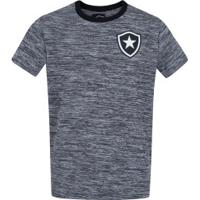Camiseta Do Botafogo Mixed - Infantil - Cinza Claro