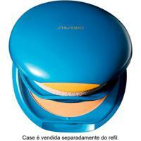 Base Facial Shiseido Refil - Uv Protective Compact Foundation Fps35 - Fair Ivory - Feminino-Incolor