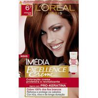 Tintura Imédia Excellence L'Oréal Creme 67 Chocolate Puro - Feminino-Incolor