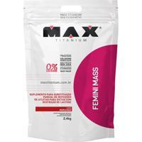 Suplemento Femini Mass- Morango- 2,4Kg- Probiotiprobiotica