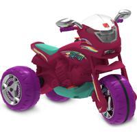 Super Moto Gt Elétrica 6V Pink