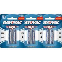 Kit Com 6 Pilhas Alcalinas Rayovac Aa (Lr6 - Pequena)