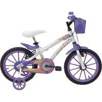 Bicicleta Athor Aro 16 Baby Lux Feminino C/ Kit - Feminino