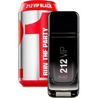 Perfume Masculino 212 Vip Men Black Collector Carolina Herrera Eau De Parfum 100Ml - Masculino