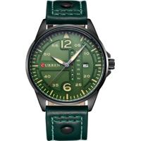 Relógio Curren Analógico 8224 Verde
