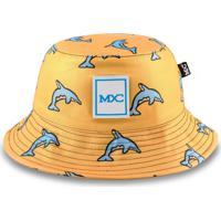 Chapéu Bucket Mxc Dolphin Amarelo - Kanui