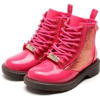 Bota Grendene Kids Infantil Barbie Fashion Rosa