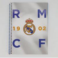 Caderno Foroni Real Madrid 1902 10 Matérias Cinza