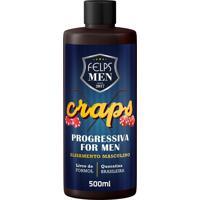 Progressiva Alisamento Masculino Felps Men Craps 500Ml - Kanui