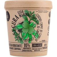 Manteiga Hidratante Lola Cosmetics - Segura Essa Marimba Carvão Ativado 230G - Unissex-Incolor