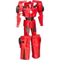 Boneco Transformers - Titan Changers - Robots In Disguise - Sideswipe - Hasbro - Masculino-Incolor