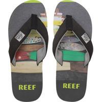 Chinelo Reef Mc Clurg Key-A Cinza