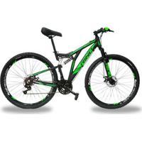 Bicicleta Aro 29 Full Everest Freio Hidraulico - Shimano Acera 27V - Unissex