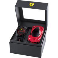 Box Infantil Scuderia Ferrari - Relógio Infantil E Carrinho - 860006