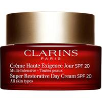 Creme Anti-Idade Clarins Super Restorative Day Cream Fps 20 - Feminino-Incolor