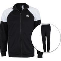 Agasalho Adidas Mts Pes Marker - Masculino - Preto/Branco