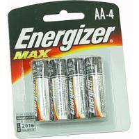 Pilhas Energizer Max Aa4 Alcalínas + 02 Pilhas Aa Grátis
