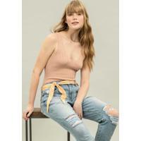 Calça Jeans Nice Com Cinto Jeans - Lez A Lez