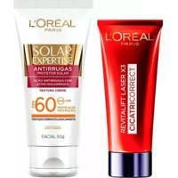 L'Oréal Paris Kit - Cicatri-Correct + Solar Expertise Antirrugas Fps60 Kit - Unissex-Incolor