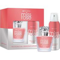 Kit Phytoderm Miss Rose 1 Deo Colônia 75Ml + 1 Desodorante 110Ml - Feminino-Incolor