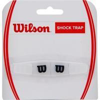 Antivibrador Wilson Shocktrap Preto - Unissex