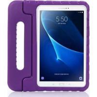 "Capa Maleta Infantil Para Tablet Samsung Galaxy Tab3 7"" Sm-T110 T111 T113 T116 Roxa"