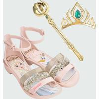 Sandália Infantil Frozen Brinde Grendene Kids 21834