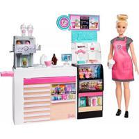 Boneca Barbie Profissões Cafeteria