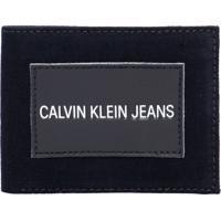 Carteira Masculina Jeans - Preto