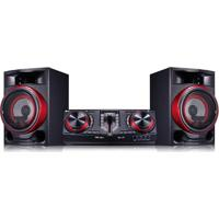 Mini System Lg X Boom Cj87 1800W Com Multi Bluethooth Dual Usb E Efeitos Dj – Bivolt