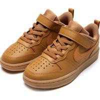 Tênis Nike Court Borough Low 2 Marrom