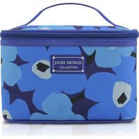 Necessaire Frasqueira Jacki Design Papoula Azul