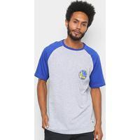 Camiseta Nba Golden State Warriors Mini Logo Masculina - Masculino