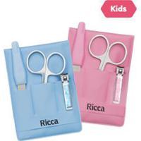 Kit Infantil Manicure Infantil - Ricca - Un