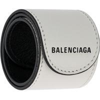 Balenciaga Pulseira De Couro - Branco
