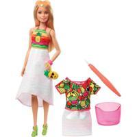 Boneca Barbie - Barbie Super Frutas Crayola - Mattel Gbk18