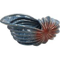 Vaso Concha Deep Sea- Azul Escuro & Vermelho Escuro-Full Fit