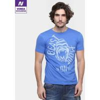 Camiseta Pretorian Beast Mode On Masculina - Masculino-Azul