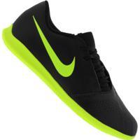 Chuteira Futsal Nike Phantom Venom Club Ic - Adulto - Preto/Verde Cla