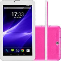 Tablet M9 3G Quad Core 8Gb 9 Pol Rosa Nb248 Multilaser