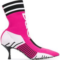 Dolce & Gabbana Ankle Boot Meia Lori - Rosa