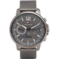 4b1b59468f4 Relógio Tommy Hilfiger Masculino Aço Preto - 1791530