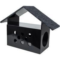 Brinquedo Arranhador Little House- Preto- 60X42,5X22Carlu Pet