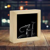 Moldura Art Box - Black Bike