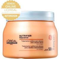Máscara Nutritiva L'Oréal Professionnel Nutrifier 500G - Unissex-Incolor