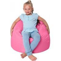 Promoção Puff Pera Infantil Enchimento Flocos Isopor Cor: Rosabb - Atelier Sopuffs