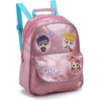 Mochila Infantil Seanite Little Girls Glitter